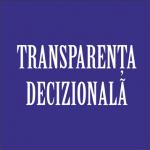 Transparența decizională
